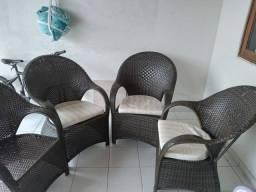 Cadeiras para área/varanda