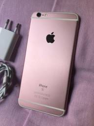 IPhone 6S Plus 128gb Rose. Muito bem cuidado