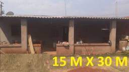 Linda Casa 15 M X 30 M Jardim Anache R$ 90 MIL * 3 Quartos