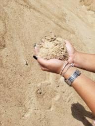 Areia sem pedras lavada