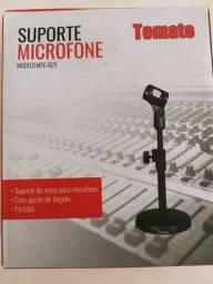 Suporte Pedestal De Mesa Para Microfone Mtg 025