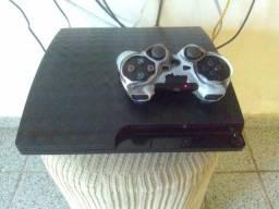 PS3 HEN 160GB CONTROLE SIMILAR
