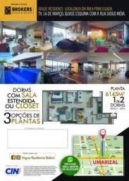 RV Imóveis Anuncia: Vogue Residence, no Umarizal. 61m²