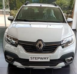 Renault Stepway Intense 1.6 - Flex - CVT - Branco - 20/21 - 567 km