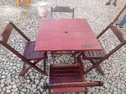 Vendo mesas, cadeiras freezers