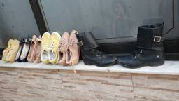 Lote de calçados barbada