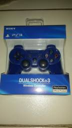 Controle de PS3 azul