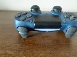 Controle Ps4 semi -novo Azul