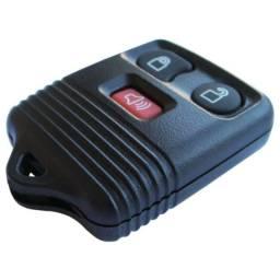 Capa do Telecomando Controle Alarme Ford 3 Botões - Ka Fiesta Ecosport - Novo