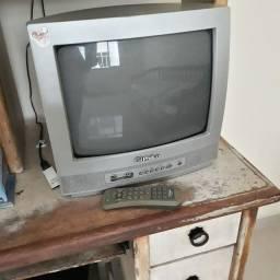 TV Philco  14 polegadas  tubo  com controle