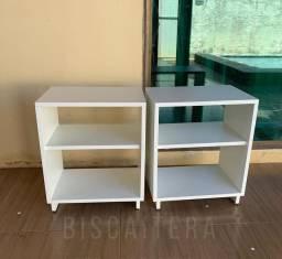 Mesas de cabeceira(2 unidades)