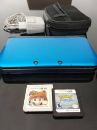 Nintendo 3Ds XL completo + 8 jogos