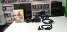 Xbox 360 Super slim travado funcionado perfeitamente entrega gratuita parcela até 12 x