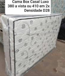 Cama Box Conjugada Casal LUXO
