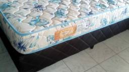 Base cama box + colchão casal