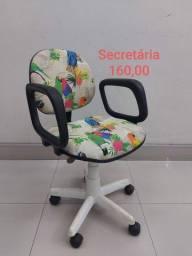 Cadeiras Secretarias Personalizadas