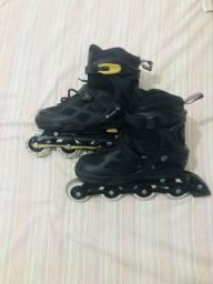 Vendo patins semi novo
