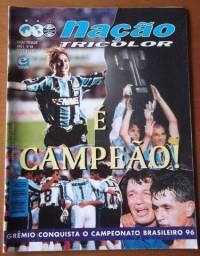 Revista Grêmio Campeão Brasileiro 1996 (Raridade)