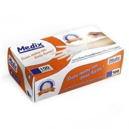 Luvas Procedimento Látex - Medix ( Nota fiscal )