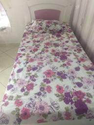 Cama de solteiro+cama auxiliar