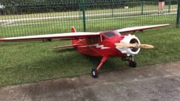Aeromodelo Stinson Relliant DLa 32cc Novo completo
