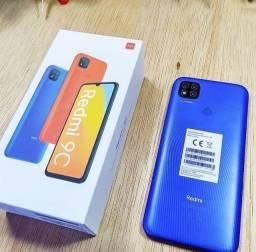 """Celular Xiaomi Redmi 9c/ 64gb / 3gb ram / Tela 6.53"""" - Azul (Carregador BR)"""