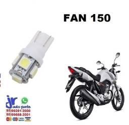 """""""Lâmpada LED T10 Pingo 12V Luz Branca Aplicação Placa Fan 150"""