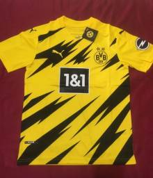 Título do anúncio: Camisa Borussia Dortmund amarela