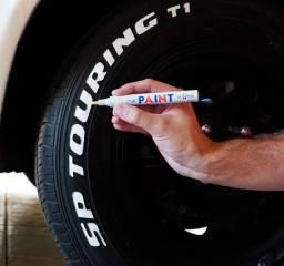 Caneta permanente Paint para pneus de Moto Carro e caminhonete