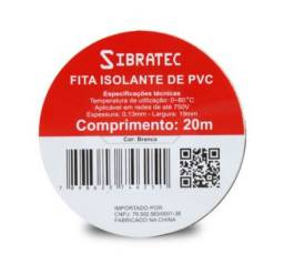 Título do anúncio: Fita Isolante  19mm x 20m Sibratec