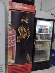 Geladeira bar uma porta