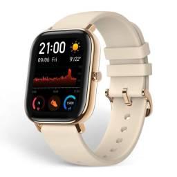 Smartwatch Xiaomi Amazfit GTS Dourado Desert Gold Novo na Caixa Lacrada