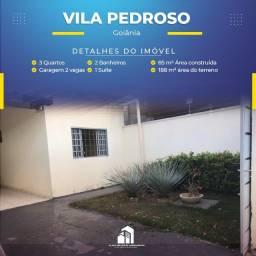 Título do anúncio: Casa com 3 quartos Vila Pedroso - Goiânia/GO