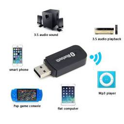 Adaptador receptor bluetooth2.0 Music Audio Mono Receiver A2DP de 3,5 mm USB Wireless