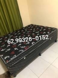 Título do anúncio: cama box com 10 cm de espuma entrego sem taxa