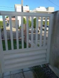 Portões de Inox - Branco