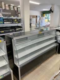 Título do anúncio: Balcão refrigerado /natural linha aurora -marca gelopar -supermercado-padaria
