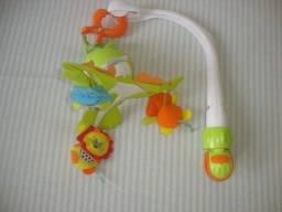 Móbile Giratório Musical De Bebê