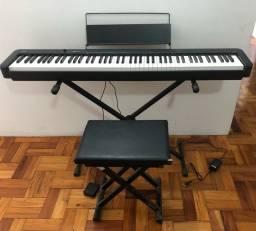 Piano Digital CPD-S100 com mesa e banco (com NF ainda na garantia)