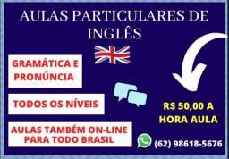 Título do anúncio: Aulas particulares de inglês