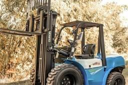 Empilhadeira Diesel Gurgel | Todo Terreno | 3,5 toneladas | Torre triplex