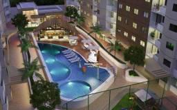 Apartamento com 3 dormitórios à venda, 73 m² por R$ 165.000 - Acqua Blu Residence Club - T