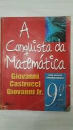 """Livro """"A Conquista da Matemática- 9° ano"""""""