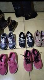 Lote de calçados Tam 30