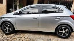 Chevrolet Onix LT 2013 Completaço 1.0 Prata