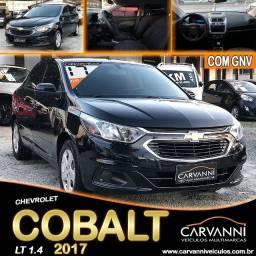 Título do anúncio: Chevrolet Cobalt Lt 1.4 2017 Com GNV