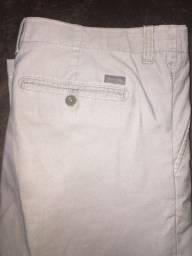 Vendo calça calvin Klein original USA nova de sarja fina risca de giz moderna