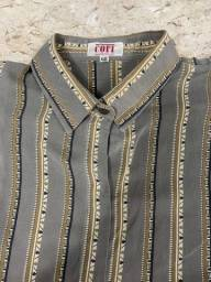 Camisa seda tamanho 46
