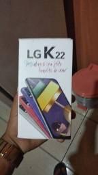 Vendo celular LG novo na caixa