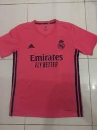 Camisa Real Madrid Away 2021 aceito cartão